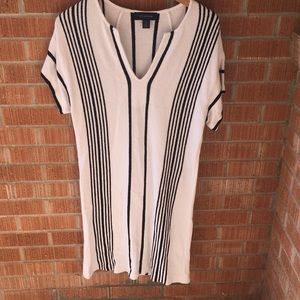 ST. John striped dress